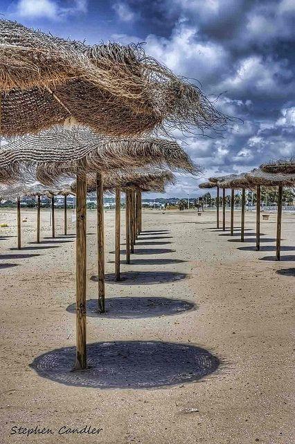 ✭ The beach at Valdelagrana, El Puerto de Santa Maria, Spain