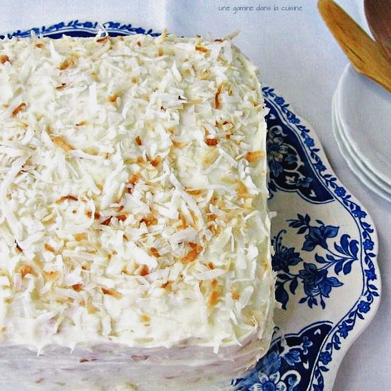 coconut ginger cake   une gamine dans la cuisine
