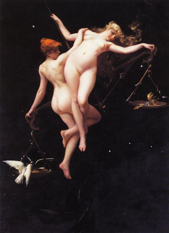 La balanza del zodíaco. Luis Ricardo Falero