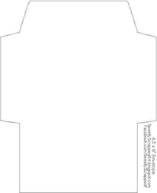 cute envelope template printable the image kid has it. Black Bedroom Furniture Sets. Home Design Ideas