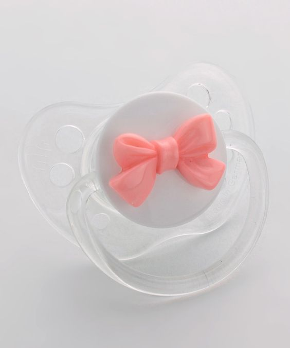 Pink Bow Pacifier