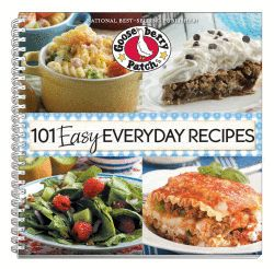 101 Easy Everyday Recipes Cookbook, now available as an eBook for your Kindle, Nook, Apple, Kobo & Sony devices.