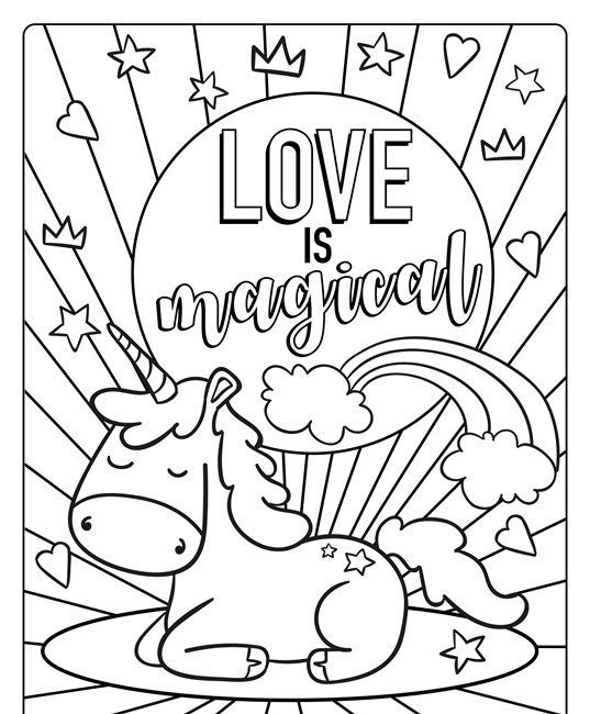 Valentine Coloring Sheets Printable Free Printable Full Page Valentines In 2020 Printable Valentines Coloring Pages Crayola Coloring Pages Valentines Day Coloring Page