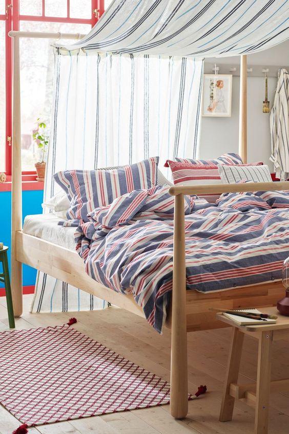 Gjora Bettgestell Birke 160x200 Cm 160x200 Bettgestell Birke Gjora Mittenimraum In 2020 Minimalist Bedroom Home Decor Home