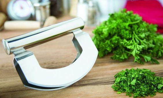 Fox Run Stainless Steel Mezzaluna:Amazon:Kitchen & Dining