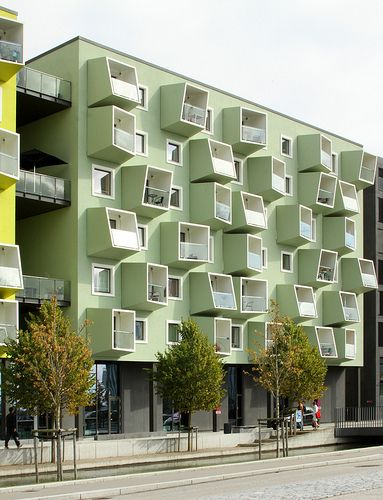 Ørestad Plejecenter / Senior Housing