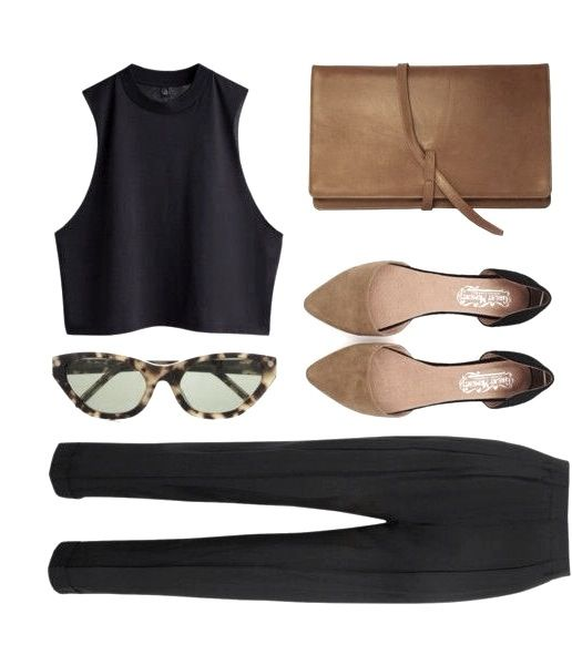 MINIMAL + CLASSIC: saddle leather accessories & black: