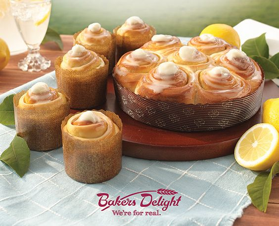 Don't fancy yourself a baker? Pretend your a wizz in the kitchen and pick up something from Baker's Delights new lemon and cheesecake range! Your guests will never know :)