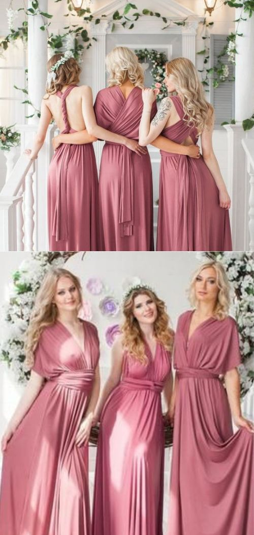 How To Choose Bridesmaids For Your Wedding And Not Offend Anyone Versatile Bridesmaid Dress Infinity Dress Bridesmaid Bridesmaid