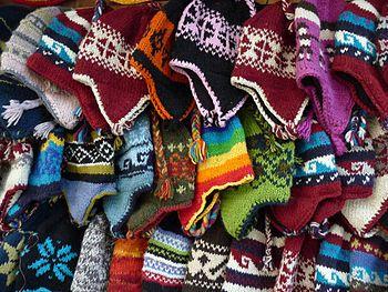 Wool for sale, Kathmandu, Nepal