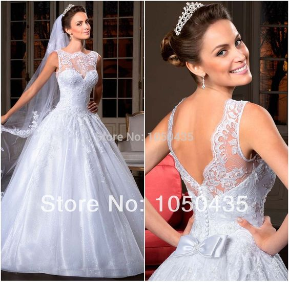 2014 Best Selling Organza Wedding Dress See Through Corset Wedding Bridal Gowns Vestido De Noiva-in Wedding Dresses from Weddings & Events on Aliexpress.com | Alibaba Group