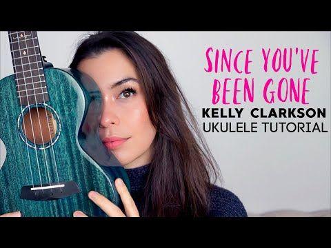 3 Kelly Clarkson Since You Ve Been Gone Ukulele Tutorial Ukebetternot Challenge Baritone Chords Too Yo Ukulele Tutorial Ukulele Lesson Ukulele