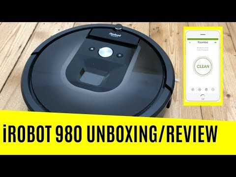 Irobot Roomba 980 Robot Vacuum Cleaner Review Cleaning Robot