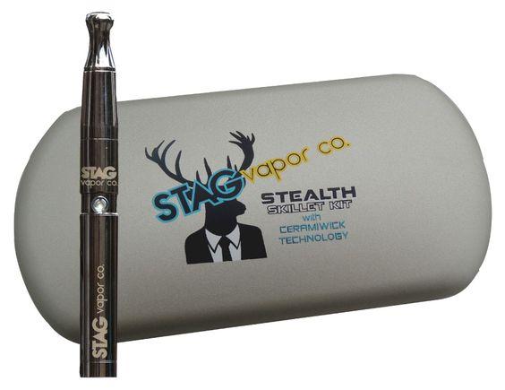 STAG Vapor Co. Stealth Skillet Kit w/ Ceramiwick Technology