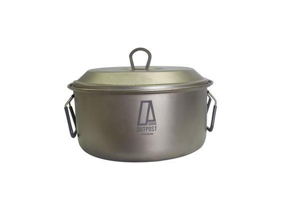 Titanium Cooking Pot