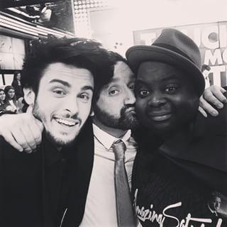 Instagram photo by baptiste.giabiconi - Merci a mon @cyrilhanouna national !!!!! Et a toute son equipe de choc #TPMP pour cet accueil de www.giabiconistyle.com !!! Issa de gros bisous sur tes belles joues mon bichon !!! Haha ... #blog #blogger #frenchblogger #bondelire #lafamille #france #tv #giabifamily #GMR #teamcorsica #teamgiabiconi #socursuenesufieru