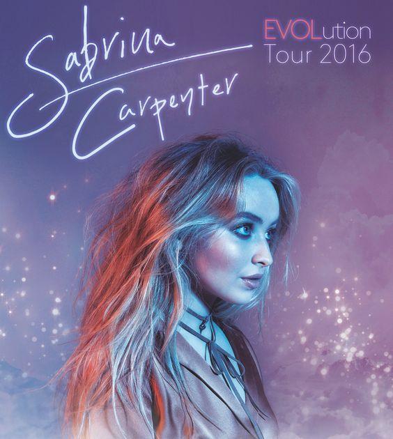 Sabrina Carpenter EVOLution Tour poster