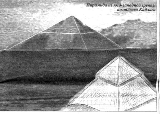 Фото 6. Пирамида из юго-западной группы комплекса Кайласа: