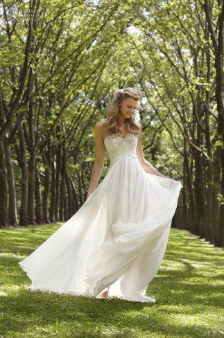 Wedding dress Mori Lee 6745 Voyage by Mori Lee Sweetheart Empire Strapless 195