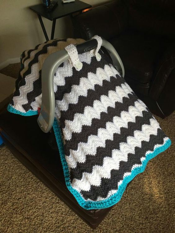 Skein And Hook Free Crochet Pattern Emerson Car Seat