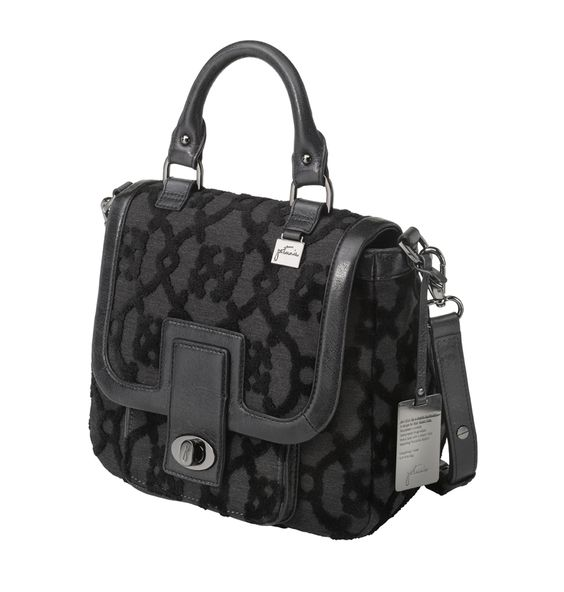 Bisou Bowler in Nightshade from Petunia - $282 http://handbags.petunia.com