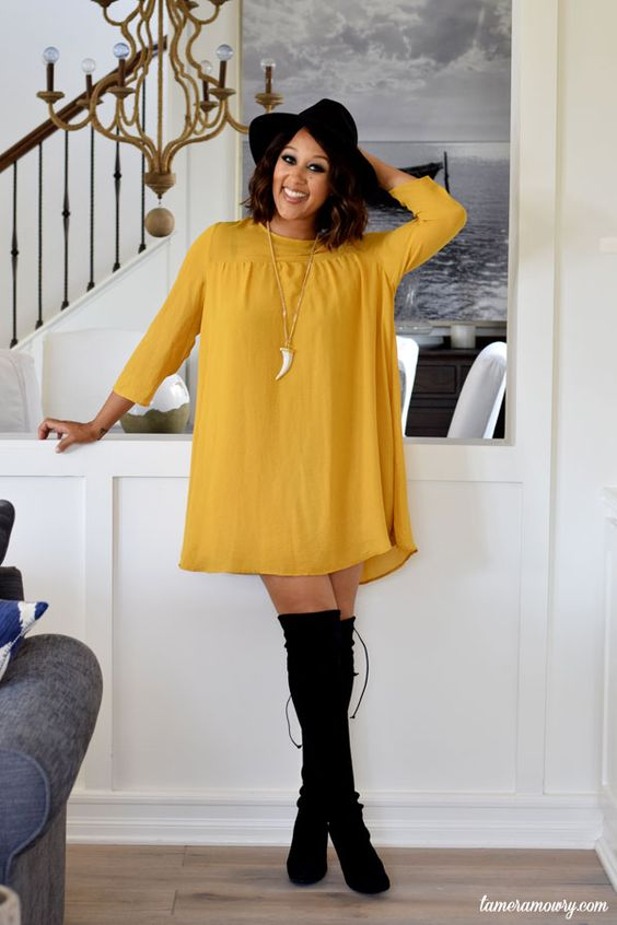 Tamera Mowry Summer to fall style