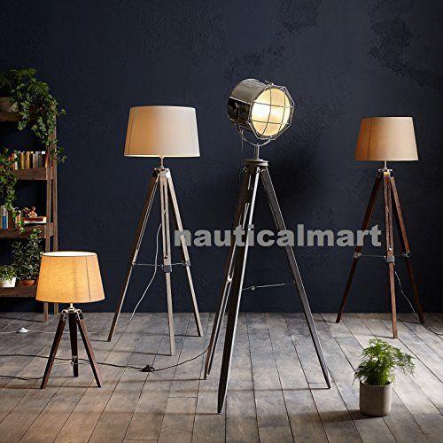 Classic Designer Tripod Floor Lamp Searchlight For Your C Https Www Amazon Com Dp B0772t84vb Ref Cm Sw R Pi Dp U X Bliw Floor Lamp Tripod Floor Lamps Lamp