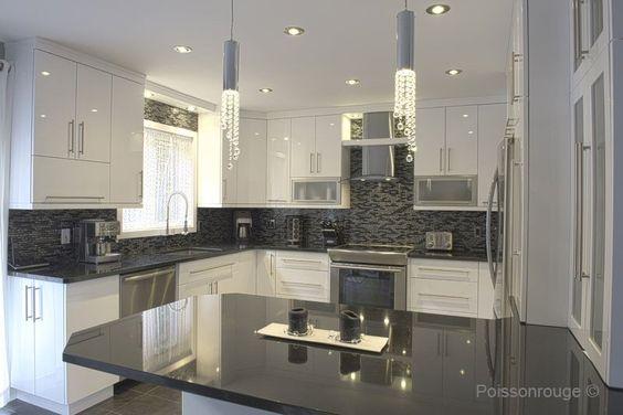 armoires de cuisine blanches - photo #30