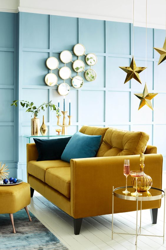 The best yellow sofas | Real Homes
