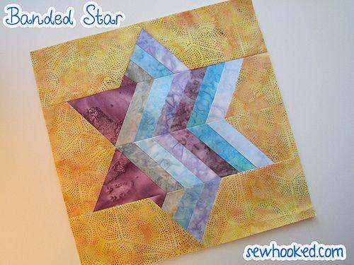 Banded Star by Jennifer Ofenstein