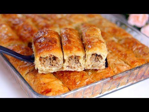 البوريك التركي باللحمة المفرومة أحلي غدا لأول يوم العيد هيفوتك كتير لو مجربتيش طعمه رووووعه Youtube Food Savoury Food Gourmet Recipes