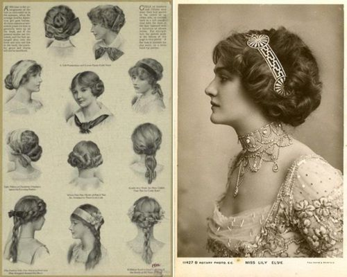 Victorian (?) Hairstyles. Drawing Reference?