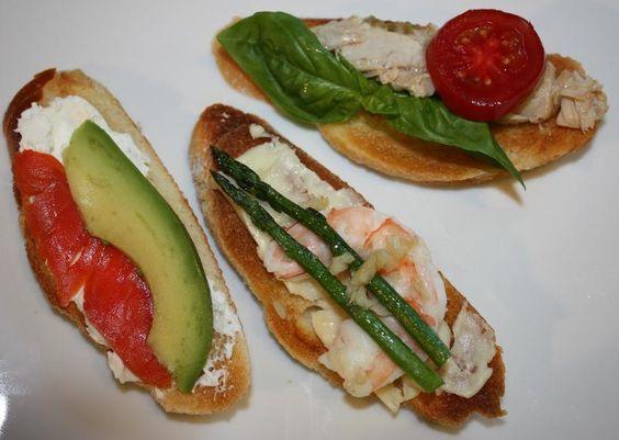 Seafood Bruschettas - Olympia Seafood