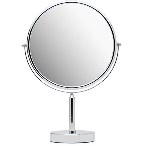 Mirrorvana Xxlarge 11 Inch Oversized Magnifying Makeup Mirror With