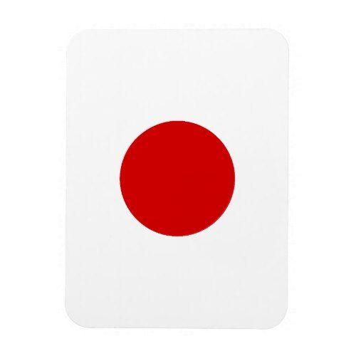 Flag Of Japan Magnet Zazzle Com Japan Flag Flag Japan