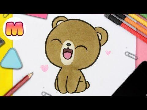 Como Dibujar Oso Kawaii Oso Panda Oso Polar Oso Pardo Youtube Como Dibujar Un Oso Dibujos Kawaii Como Dibujar Animales