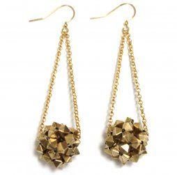 fun disco earrings