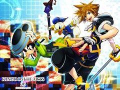 Sora,Goofy and Donald