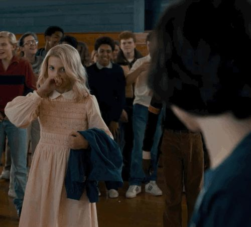 Millie Bobby Brown as Eleven in Stranger Things (TV Series 2016– )