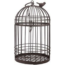 Large Rust Zinc Bird Cage. Delivery is Free