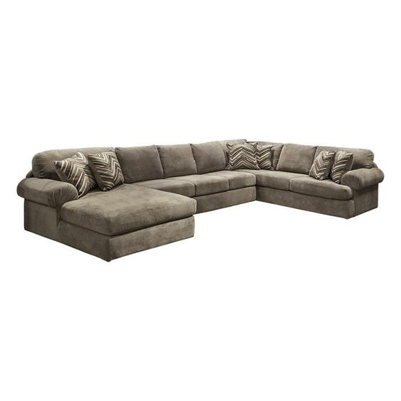 Brody 3 Piece Sectional in Bingo Porcini