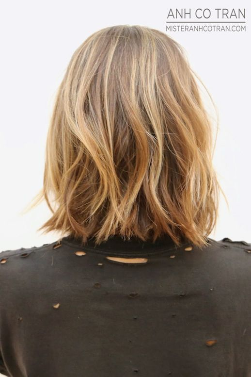Le Fashion Blog Haircut Inspiration The Perfect Wavy Bob Via Mister Anh Co Tran…: