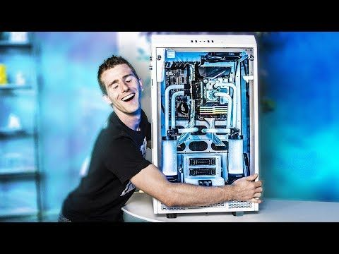 Fully Rgb Water Cooling Even The Fittings Linus Tech Tips
