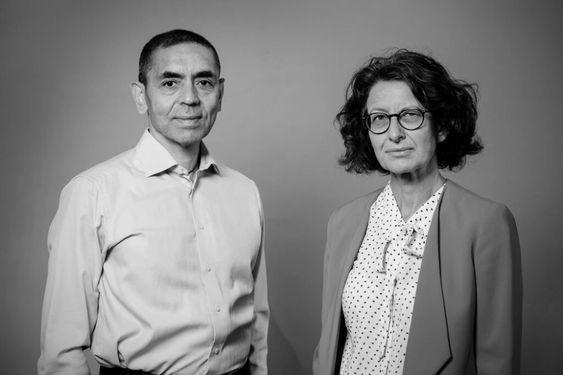 La pareja detrás de la vacuna para el covid de Pfizer - The New York Times