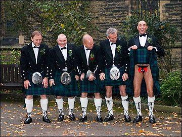 Men In Kilts St Andrews Church Merseyside Great Scots