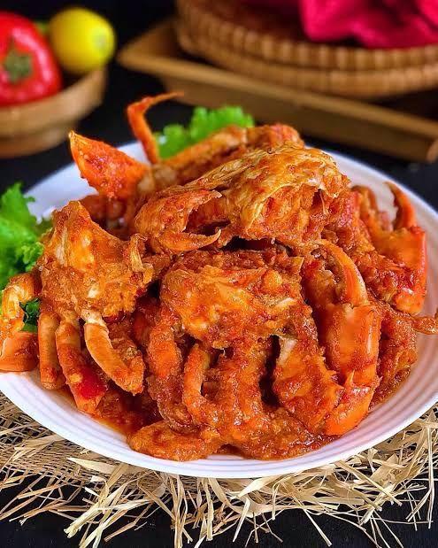 Kepiting Saus Pedas Resep Kepiting Resep Masakan Pedas Resep