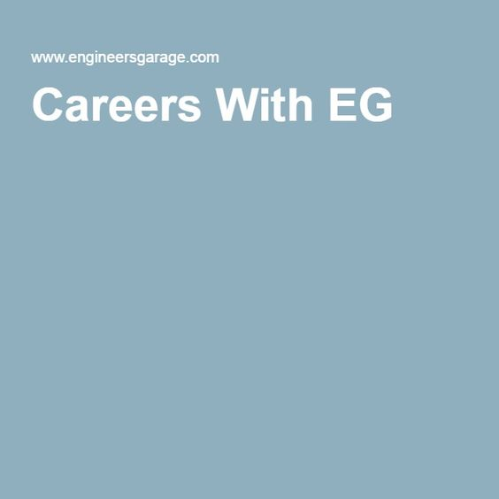 Careers With EG