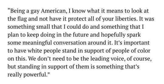 Justin's Political Corner: Megan Rapinoe on why she kneeled in solidarity with Colin Kaepernick. #USWNT #MeganRapinoe http://justinspoliticalcorner.tumblr.com/post/149963515312/megan-rapinoe-on-why-she-kneeled-in-solidarity