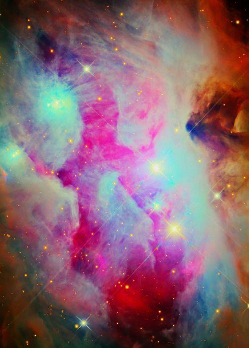 neon nebula in space - photo #39