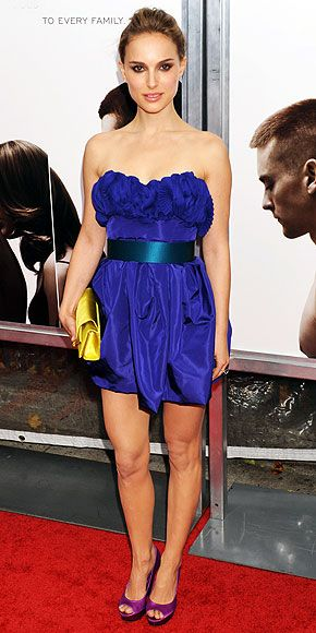 DearMsLilith: Natalie Portman: Blue Dress, Purple Heels. | Ropa ...